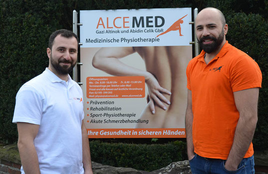 die Inhaber und Physiotherapeuten von ALCEMED