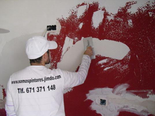 Alisado de paredes pintor malaga - Como alisar paredes ...