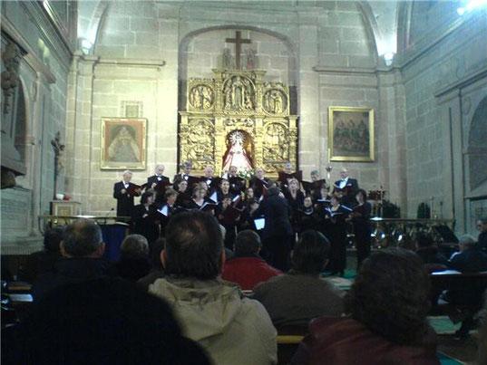CONCIERTO DE SEMANA SANTA , ERMITA DE LAS VACAS ( AVILA ) 2010