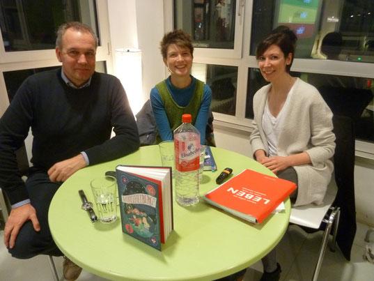 von links nach rechts: Armin Kolb, Judith Allert, Gunde Dorner // Bild: © Kirsten Dehler, MediaCampus