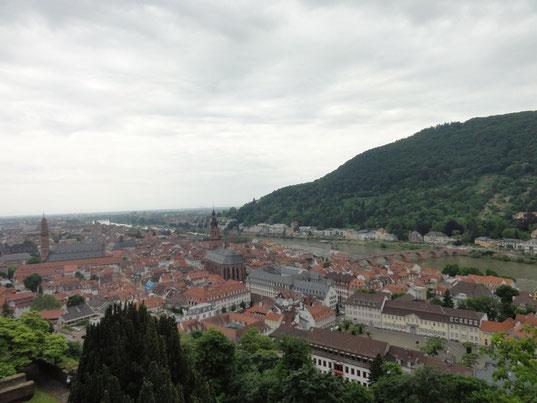 vue sur la ville depuis le chateau