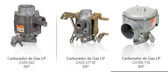 CARBURADORES CARBURACION GAS LP partes refacciones accesorios montacargas mexico