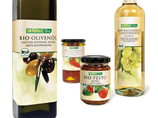 Kattus - Bio - Logo - Design - Verpackung - Packaging - Konzept - Entwicklung - biologisch - Olivenöl - Pesto - Antipasti - Balsamico - DesignKis - 2007