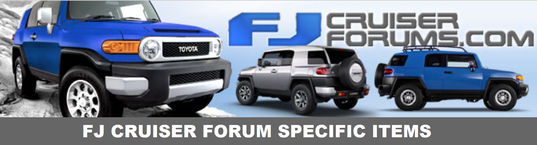 FJ Cruiser Badge Kits - The Grille Badge Store