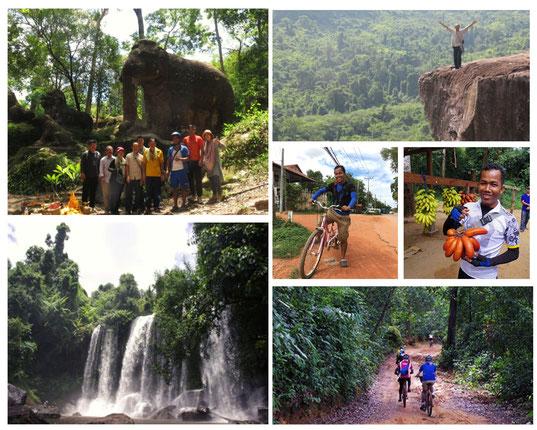 プノンクーレン|カンボジア旅行|オークンツアー|現地ツアー|サイクリング