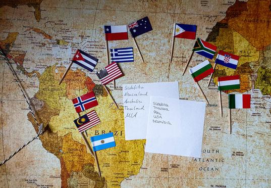Reiseziele Wunschliste