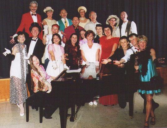 """Pressebild zur Revue """"Musik kann wie ein Traum sein"""" Chor Clamott Schwerte Schlager Evergreens"""