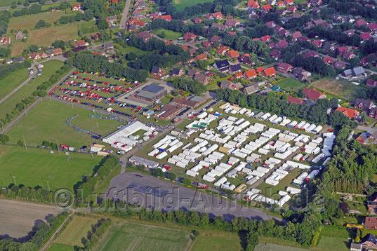 Das Zeltlager der Jugendfeuerwehr in Tannenhausen (Juni 2016)