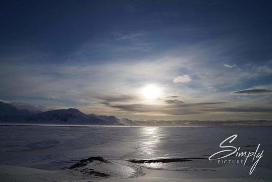 Iceland, Schnee, Eis, Sonnenaufhang