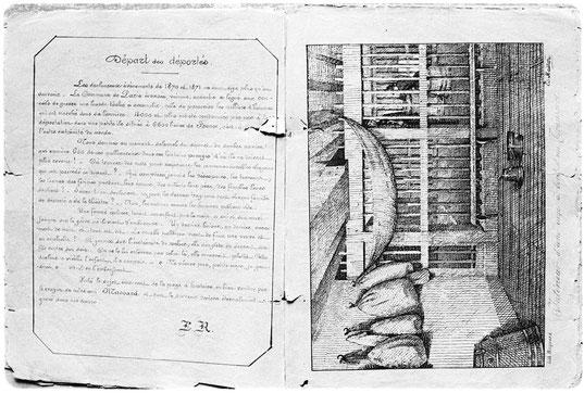 Album de l'île des Pins (pages 4 et 5)