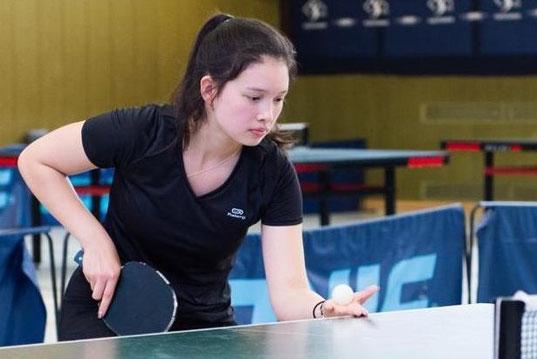 Bezirksranglistensiegerin der U18 Mädchen: Stella Lin Wonschik | Foto: Anja Dorny