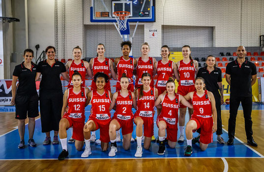 U18 Nationalteam / #15 Charlène Stieger