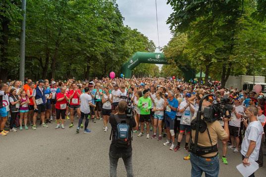 Kurz vor dem Start, Foto: Chris Mühlböck