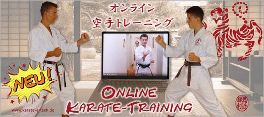 Karate Erlach, Online Karate-Training