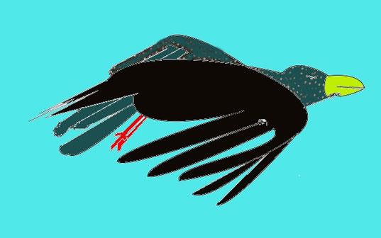 Die Krähe ist der Archetyp der Leidenschaft im Mythos.