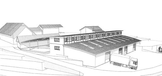 Neubau Produktionshalle CNC