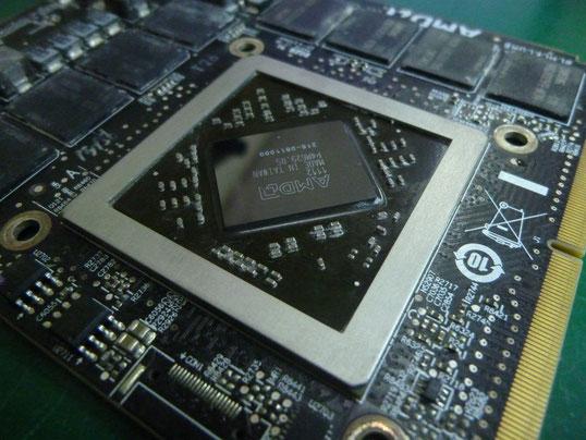 Apple iMac 27inch Mid2011グラフィックカード GPUリボール再実装