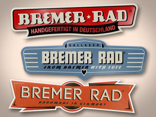 Retro Logos für Bremer Rad