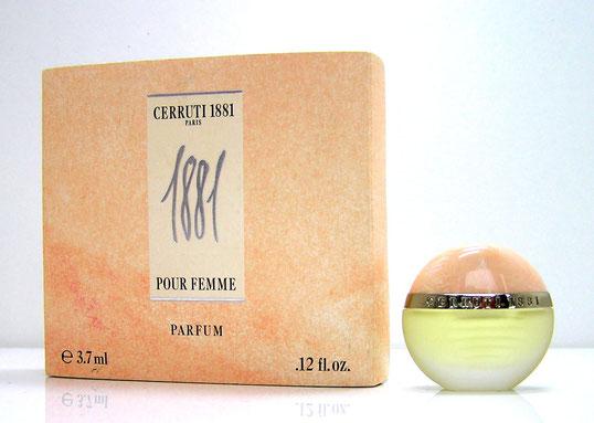 CERRUTI 1881 - PARFUM 3,7 ML PRESENTEE DANS DOUBLE BOÎTE