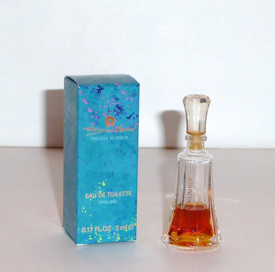 ETIENNE AIGNER - PRIVATE NUMBER : EAU DE TOILETTE OPALISEE 5 ML