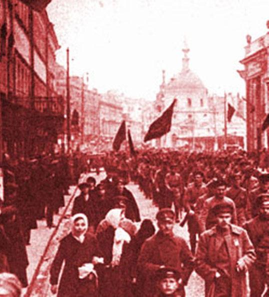 Arbejderdemonstrationer i Petrograd 1917