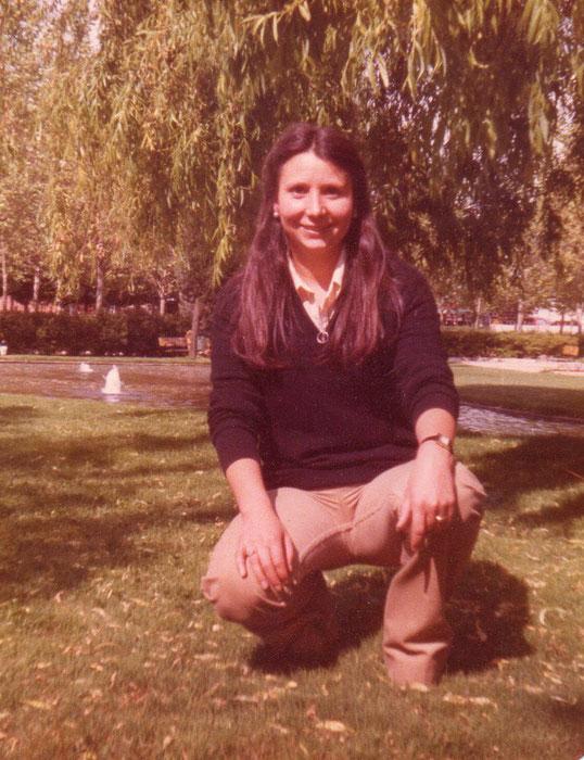 Mi parque. Años 70. Pedro. F. P. Privada.