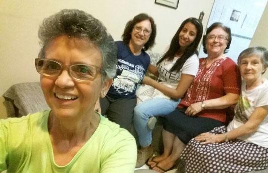 Encontros da equipe geral de animação no Nordeste do Brasil