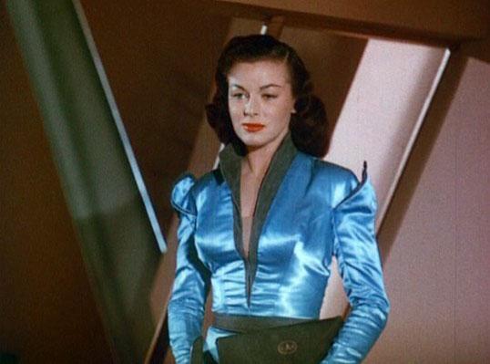 Flight to Mars (USA 1951) Szenenfoto mit Marguerite Chapman als Alita
