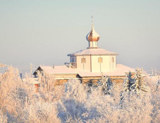 Храм Сретения Господня д. Гам Ижемского района Республики Коми