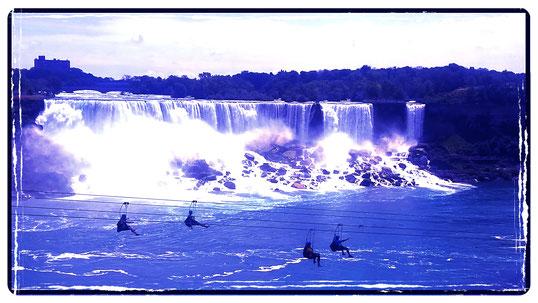 Juan C. Levesque, Adventurist; Niagara Falls, Canada.