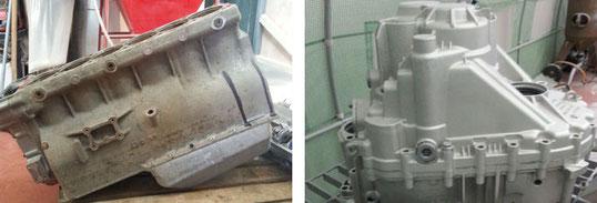 Mentiplay Grit Blasting - Dunfermline engine