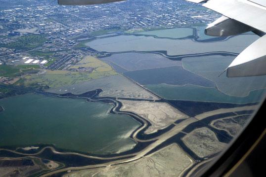 südliches Ende der San Francisco Bay