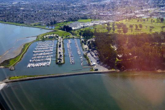 San Mateo, CA: Coyote Point Marina + Poplar Creek Golf Course