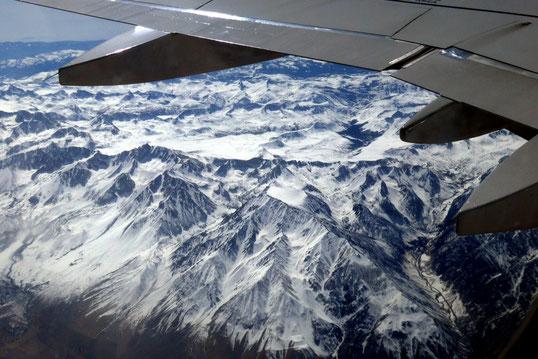 über den Rocky Mountains