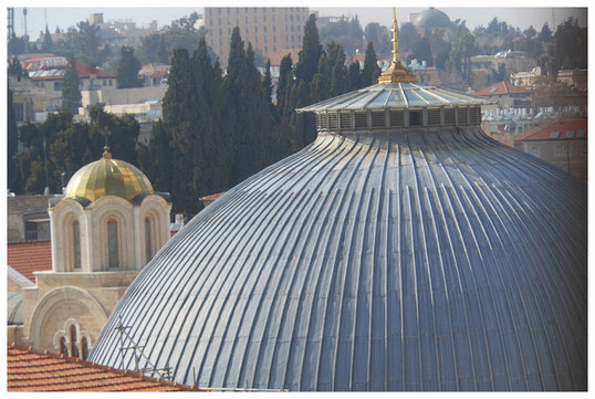 The dome of the Holy Sepulchre.