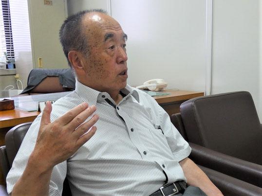 一関農業委員会 会長 伊藤公夫さん (令和3年9月19日で任期満了)