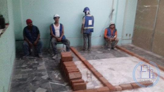Construcción, remodelación, mantenimiento en Caja Popular Mexicana en León, Gto.