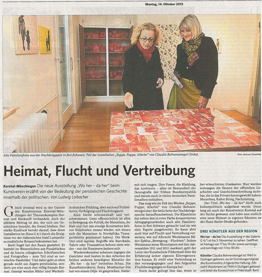 Stuttgarter Zeitung/Strohgäu Extra 14.10.2013
