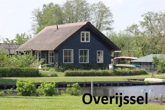Te huur vakantiehuisjes in Nederland per vakantiegebied