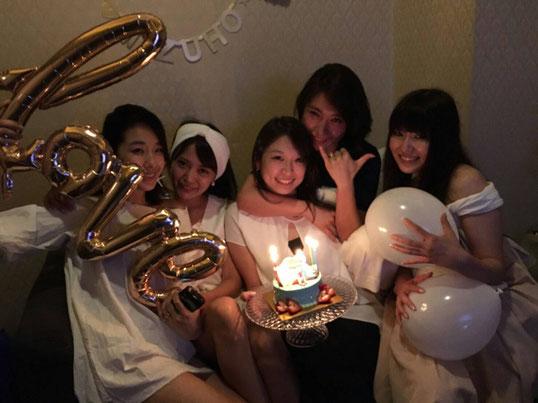 女子会プラン|誕生日|BirthDay|カラオケ|デコレーション