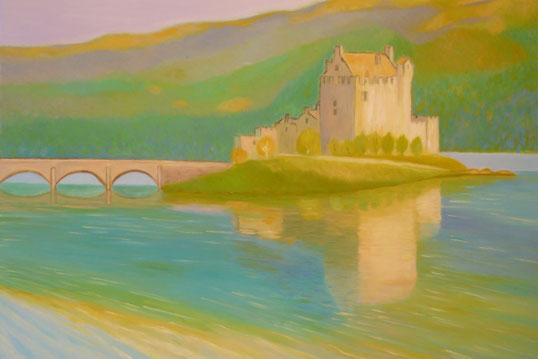 Eilean Donan castle 40x50cm