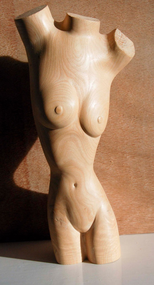 Woman Torso 2009 (Ash) (34x15x9) Fergus Murray