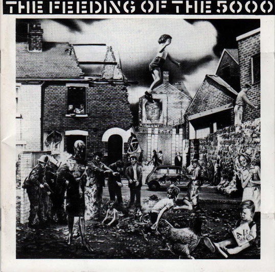 CRASS - The Feeding Of The 5000; Covergstaltung: Gee Vaucher