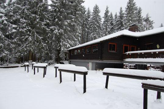 Wintersportgebiet Schwarzer Mann bei Prüm