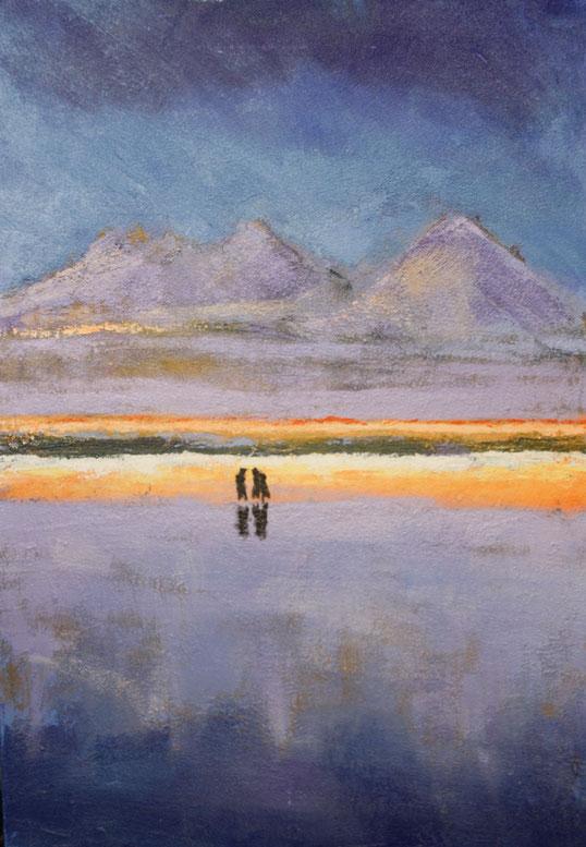 MVE Chili Landschap  - Acryl  70 x 100 cm
