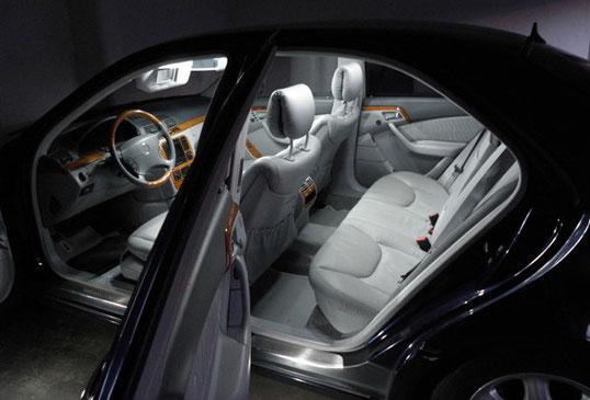 auto led innen licht set xenon led besseres licht beim. Black Bedroom Furniture Sets. Home Design Ideas