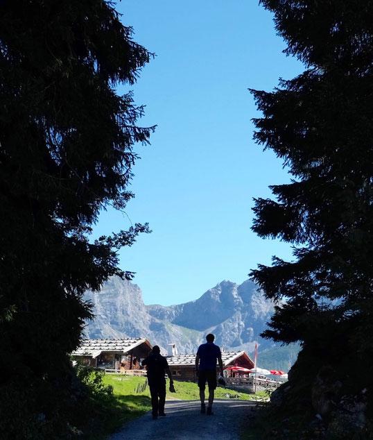 Wanderung  Steinernes Meer Kallbrunnalm