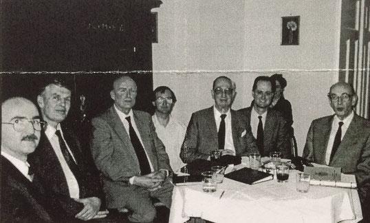 Die Gründungsmitglieder am 11.03.1995 in München.