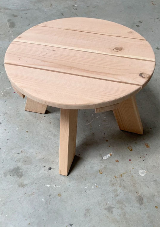 TABLE BASSE BOIS DOUGLAS