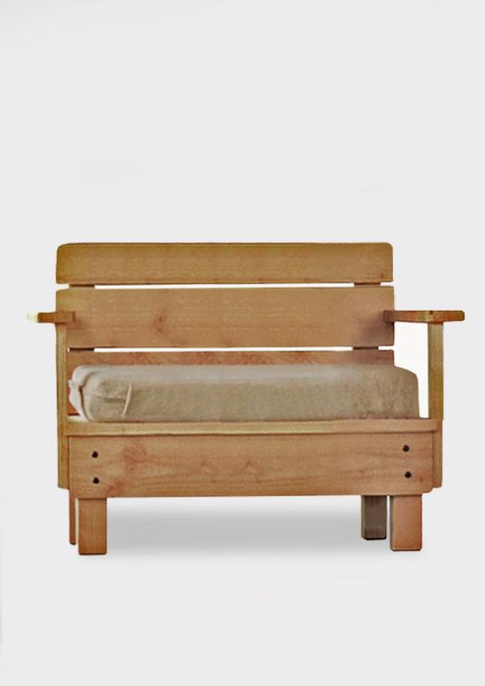 fauteuil jardin bois douglas made in france